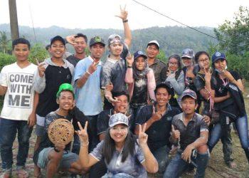 Suasana perpisahan mahasiswa KKN Undiksha di Desa Sai, Pupuan, Tabanan. (foto koleksi penulis, hanya sebagai ilustrasi)