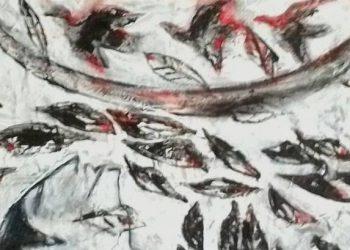 Potongan dari lukisan I Nyoman Wirata