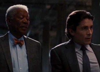 Bruce Wayne - Lucius Fox  dalam The Dark Knight/net