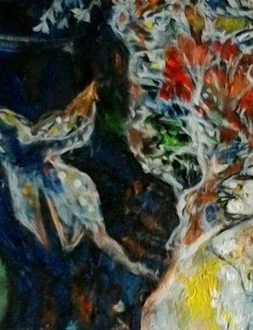 Lukisan: Nyoman Wirata (cropping)