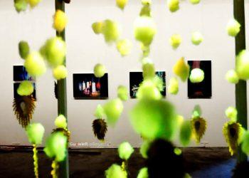 "Pameran Seni Rupa""BEYOND A LIGHT"" (2014)./ Foto: Agus Wiryadhi Saidi"