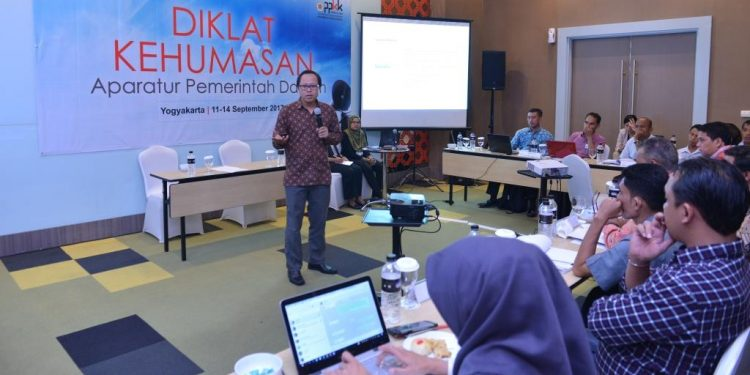 Pendidikan dan Pelatihan Kehumasan Aparatur Pemerintah Daerah,11-14 September 2017 di Yogyakarta