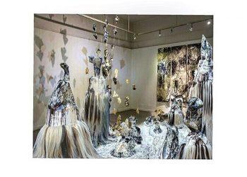 Nyoman Erawan #COMIC DANCE #3#2016#600cmx600cmx600cm#mixed Media#Installation Art