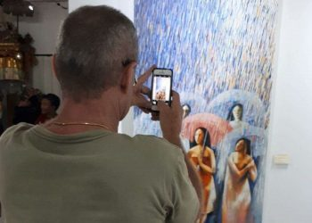 Pameran lukisan Suastama dan Suasana di Restu Bumi Gallery, Ubud, Gianyar.