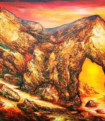 Lukisan Dewa Merta