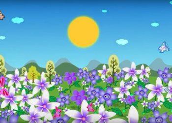 Youtube/klip lagu anak-anak Kupu-kupu yang Lucu