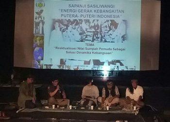 Dialog dalam acara Sapanji Sasiliwangi – Mapag Seba Jagad Parahyang IV di Jawa Barat