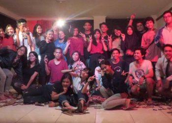 Kegembiraan anak-anak Komunitas Cemara Angin usai menggelar MAS di Undiksha Singaraja