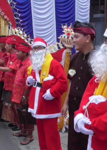Malam Natal di mereka Gereja Bethel Injhil Sepenuh GBIS Singaraja