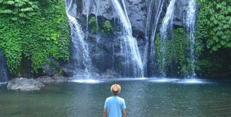 Banyumala Waterfall. /All Photos by Canestra Adi Putra