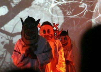 Pertunjukan Sang Kala, Monez & Ninus, di Cush Cush Gallery Denpasar