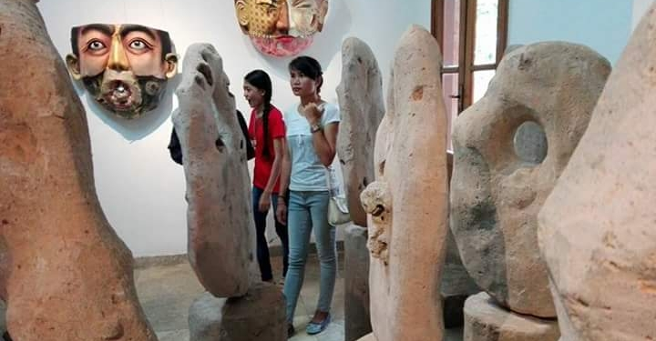 Karya yang dipemaeran Kelompok Galang Kangin di Neka Art Museum
