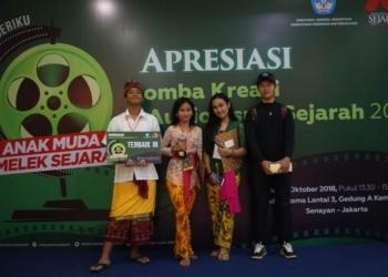 Tim Film Kanya dari SMAN 3 DEnpasar/ist