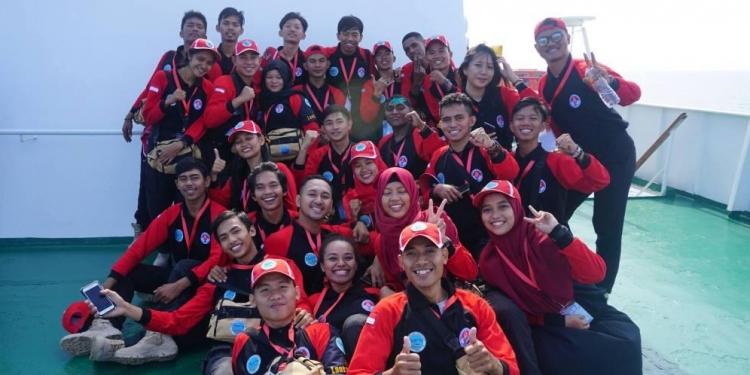 Peserta program Kapal Pemuda Nusantara 2018