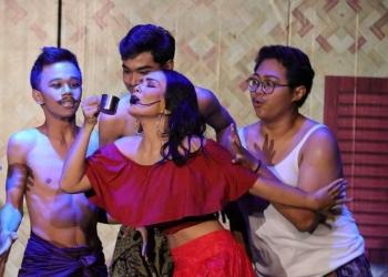 Drama Musikal Sukreni Wang Sistri Listuayu, Kelompok Sekali Pentas. (Foto: Adi Ngurah)