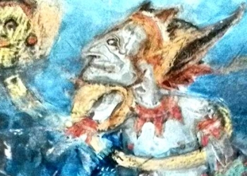 Lukisan Nyoman Wirata (croping)