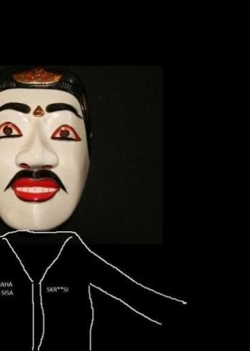 Ilustrasi tatkala. Gambar topeng diambil dari Google