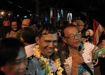 Raka Sutama disambut meriah di Puspem Badung