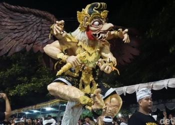 Meriahnya sendratari ogoh-ogoh di Desa Adat Tuban, Bali (Dita/detikcom) (Foto hanya ilustrasi)
