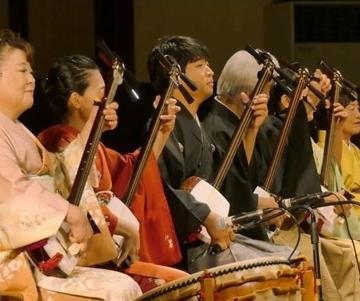 Kelompok pemusik Baisho-kai di PKB 2019 (Foto Widnyana Sudibya)