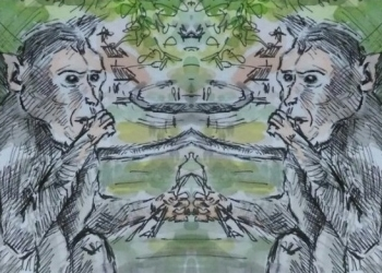 Ilustrasi diolah dari lukisan IB Pandit Parastu