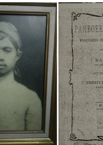 I Made Pasek dan buku Pamboekaning Toeas, Woordvorming en Balineesche-Taaloefeningen