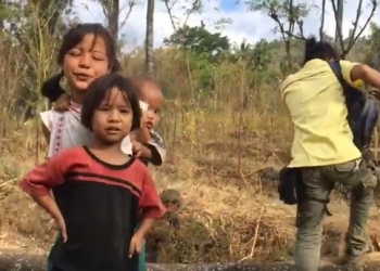 Bertemu anak-anak alam di kawasan Kintamani ketika penulis berkunjung ke kawasan itu (Foto ilustrasi: IIK Eriadi Ariana)