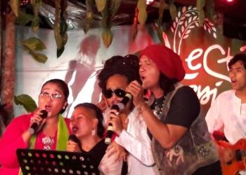 Tribute to Koes Plus di Festival Tepi Sawah 2019