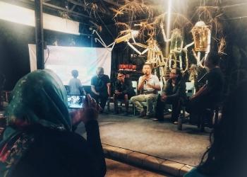 Acara Anugerah Jurnalisme Warga 2019 di Taman Baca Kesiman