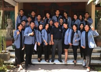 Mahasiswa KKN Undiksha di Desa Dawan Kaler, Klungkung