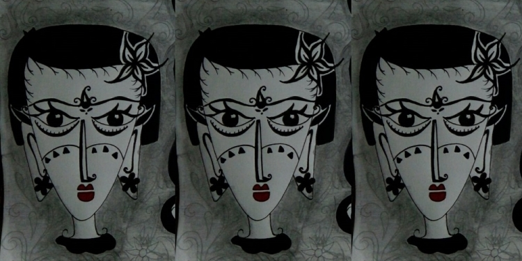 Lukisan karya Komang Astiari