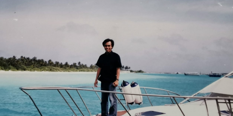 Lankanfinolhu Island, Maldives (Maladewa), 2005.