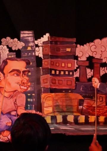 26 November 2019, I_Pedalangan mempertunjukkan cerita yang bisa dinikmati banyak orang dalam Parade Teater Canasta 2019