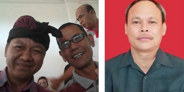 Bersama guru SMP saya dan guru pengajar Bahasa Indonesia saat SMA