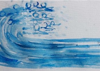 Jiwa-jiwa Laut/ Ilustrasi karya Made Dwita Kartini