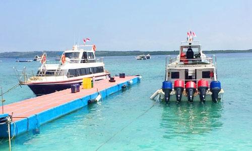 Foto ilustrasi: Dermaga-Banjar-Nyuh-Nusa-Penida. (Foto Google)