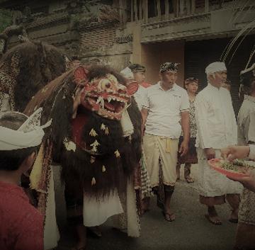 Tradisi ngelwang di Desa Adat Tegal, Abiansemal, Badung, Bali