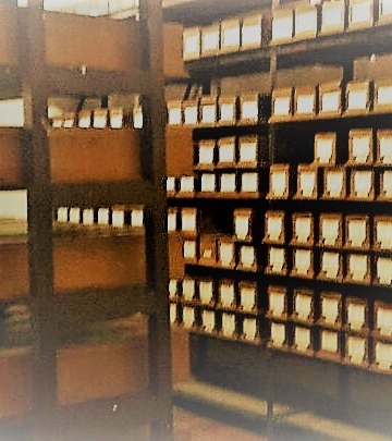 Foto ilustrasi: Koleksi lontar di Gedong Kirtya
