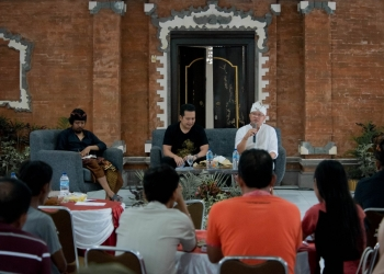 Jah Magesah Vol. 05: Cinta Tanpa Syarat, Jumat (21/2) di Wantilan Kantor Lurah Baler Bale Agung, yang diinisiasi JCCO bekerjasama dengan Kelurahan Baler Bale Agung, Jembrana, Bali