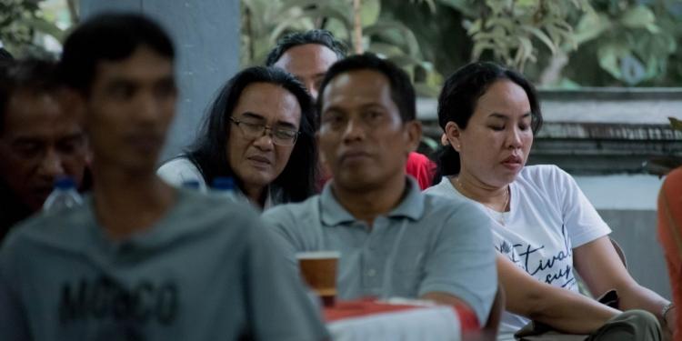 Para peserta acara Jah Magesah Vol.5 di Baler Agung Jembrana [Foto Mang Tri]