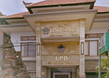 Foto ilustrasi: LPD Desa Adat Beraban, Tabanan. [Foto buletindewata.com]