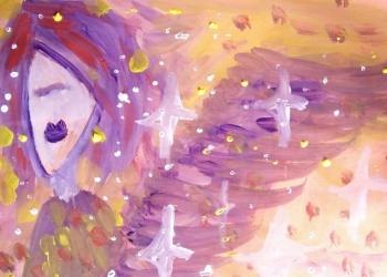 Ilustrasi lukisan oleh Komang Astiari
