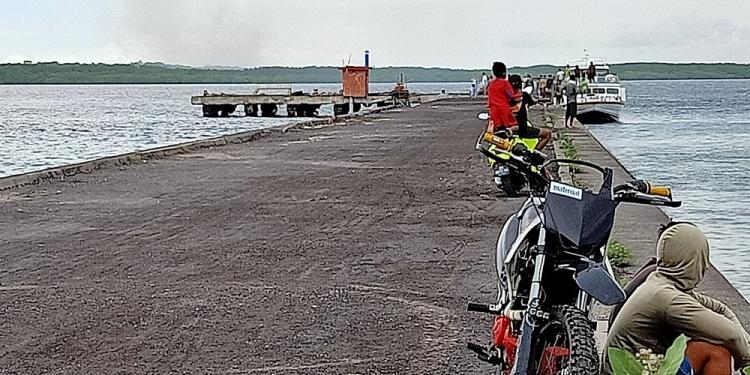 Dermaga Banjar Nyuh Nusa Penida [Foto: Serawan]