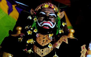 Ida Bhatara Ratu Gede Mas Mecaling. Sumber foto: ceritadewata.blogspot.com