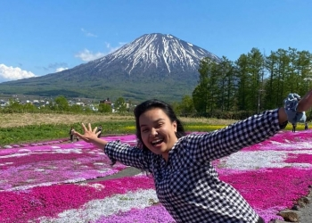 Riris Sanjaya di Jepang