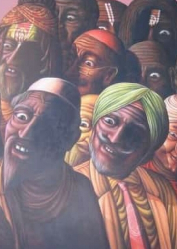 Lukisan I Ketut Suwidiarta
