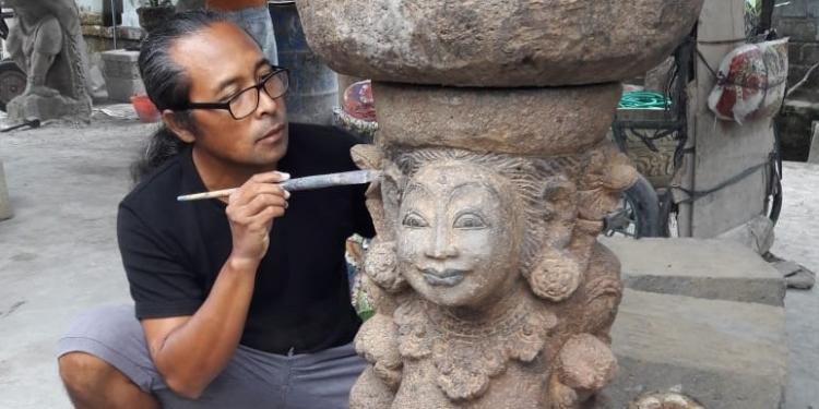 I Dewa Gede Soma Wijaya dan Patung Klasik yang Artistik