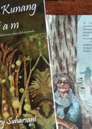 Novel Kunang-kunang Hitam