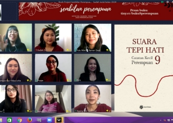 9 perempuan book launch