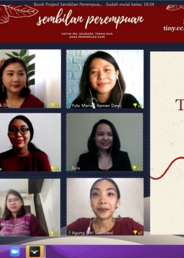 9 perempuan book launch